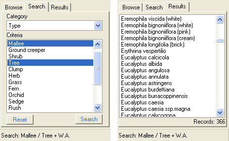 Search / Results